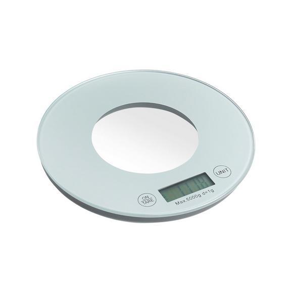 Kuhinjska Tehtnica Britta - siva/bela, umetna masa/steklo (19/2cm) - Mömax modern living