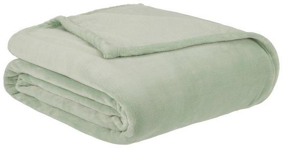 Mehka Odeja Julian - svetlo zelena, tekstil (140/200cm) - Mömax modern living