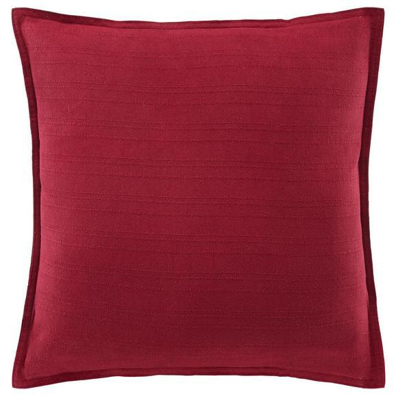 Zierkissen Solid One in Rot - Rot, Textil (45/45cm)