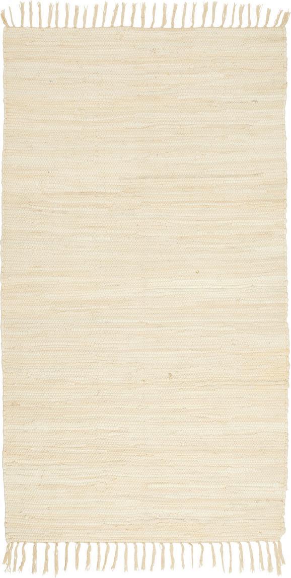 Fleckerlteppich Julia 70x130cm - Creme, KONVENTIONELL, Textil (70/130cm) - Mömax modern living