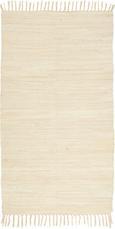 Fleckerlteppich Julia - Creme, KONVENTIONELL, Textil (70/130cm) - MÖMAX modern living