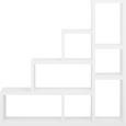 Térelválasztó Fehér 7 Részes Tyler - Fehér, modern, Faalapú anyag (155/155/35cm) - Mömax modern living