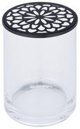 Dekorativna Vaza Viola - črna/prosojna, Moderno, kovina/steklo (10/14,6/10cm) - Mömax modern living
