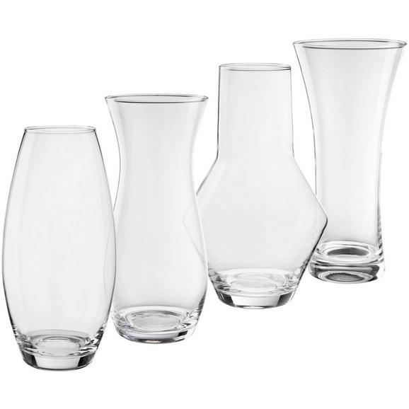 Vaza Lena - prozorna, steklo (15/30cm) - Mömax modern living