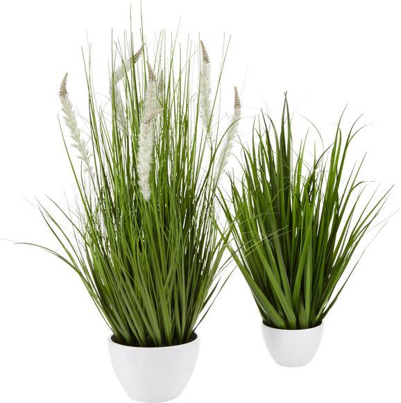 Šop Trave Iris - zelena, Romantika, umetna masa (79cm)