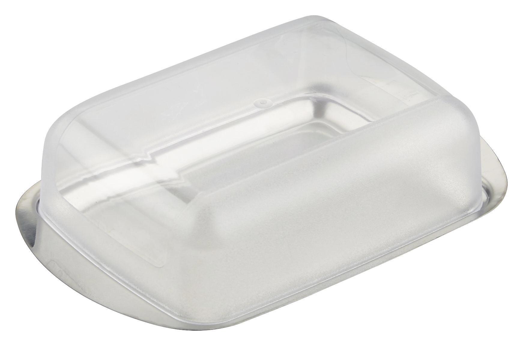 Vajtartó Buddy - áttetsző/ezüst színű, műanyag (16,5/10,5cm) - MÖMAX modern living