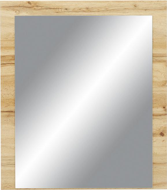 Spiegel in Eichefarben - Eichefarben, MODERN, Holzwerkstoff (75/85/2cm) - Premium Living