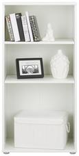 Regal Weiß - Weiß, MODERN, Holzwerkstoff/Kunststoff (54/111/34cm)