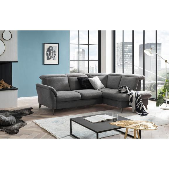 Canapea Modulară Salerno - gri, Modern, textil (249/182cm) - Ondega