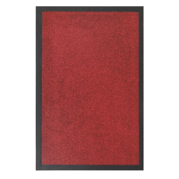 Fußmatte Eton in Rot ca. 40x60cm - Rot, LIFESTYLE, Textil (40/60cm) - Mömax modern living
