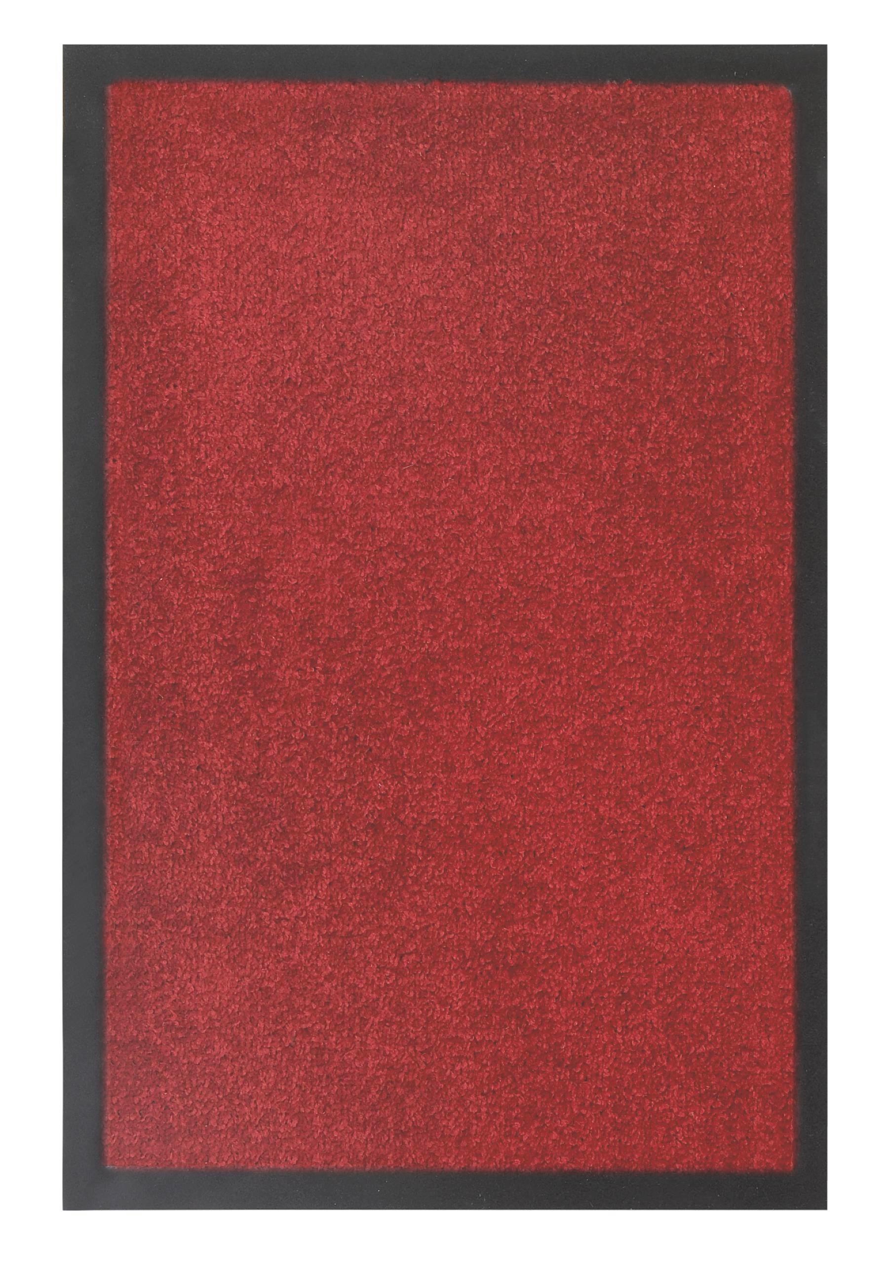 Fußmatte Eton in Rot, ca. 60x80cm - Rot, LIFESTYLE, Textil (60/80cm) - MÖMAX modern living