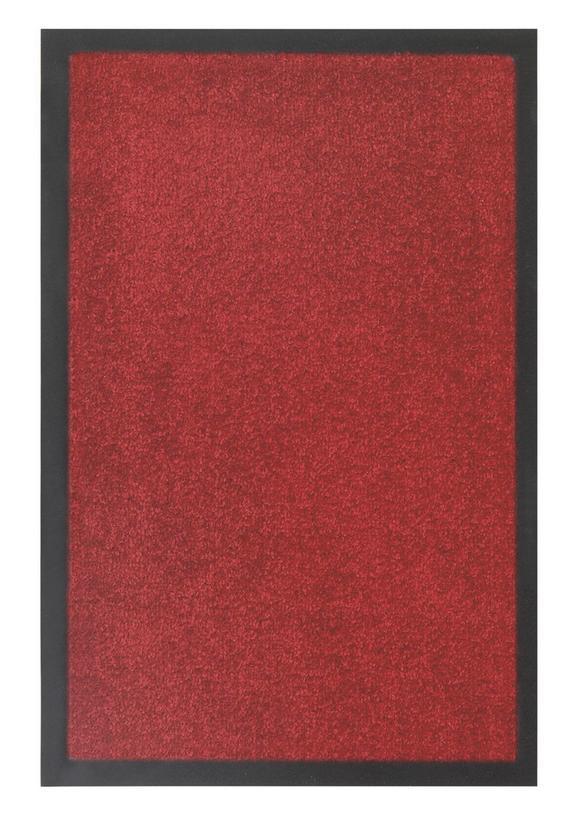 Fußmatte Eton in Rot, ca. 80x120cm - Rot, LIFESTYLE, Textil (80/120cm) - MÖMAX modern living