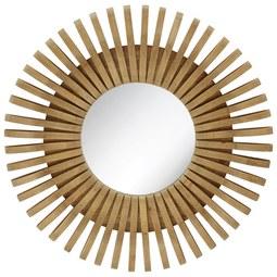 Fali Tükör Phoebe -trend- - natúr színek, Lifestyle, műanyag/üveg (70/70/7cm)