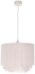 Leuchtenschirm Musa max. 60 Watt - Rosa, ROMANTIK / LANDHAUS, Textil/Metall (35/30cm) - Mömax modern living