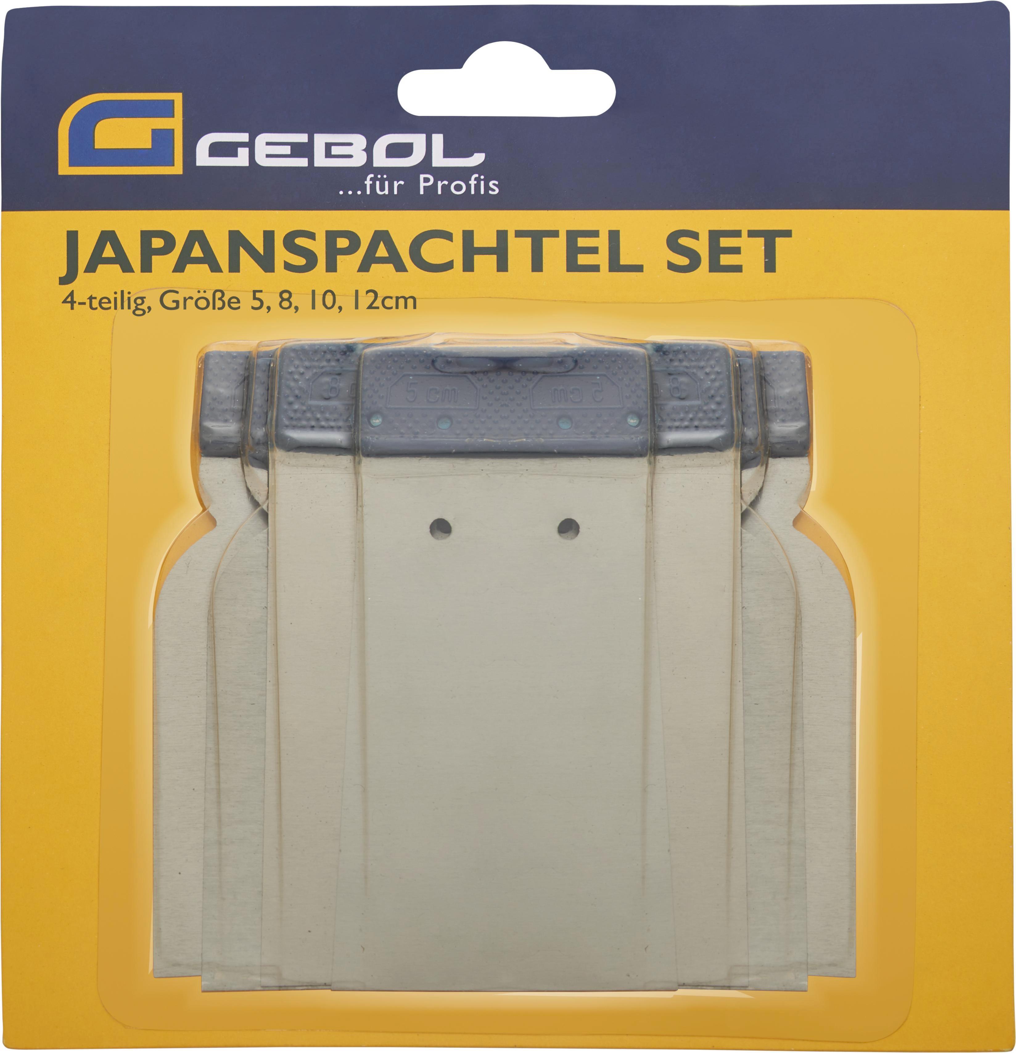 Japanspachtel Jan aus Metall - Silberfarben, KONVENTIONELL, Metall (5.8.10.12cm)