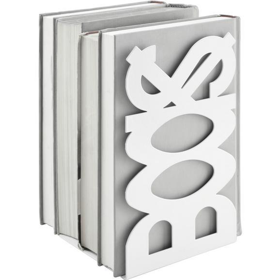 Suport Lateral Books - alb, metal (12/21/11cm)