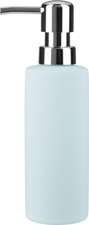 Seifenspender Melanie in Blau aus Keramik - Blau, Keramik (5/18cm) - MÖMAX modern living