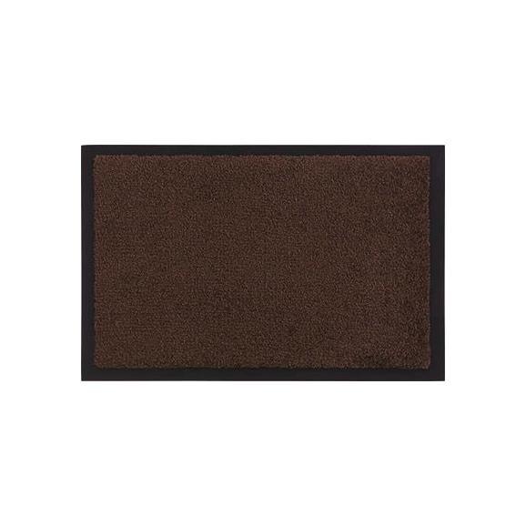Fußmatte Eton Braun, ca. 60x80cm - Braun, LIFESTYLE, Textil (60/80cm) - Mömax modern living