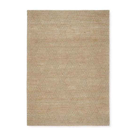 Covor Țesut De Mână Kaan - nămol, Basics, textil (160/230cm) - Modern Living