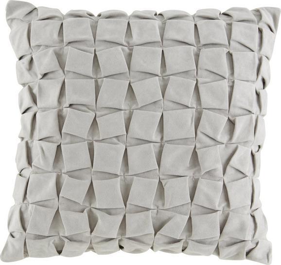 Zierkissen Cube in Grau, ca. 45x45cm - Grau, Textil (45/45cm) - Mömax modern living