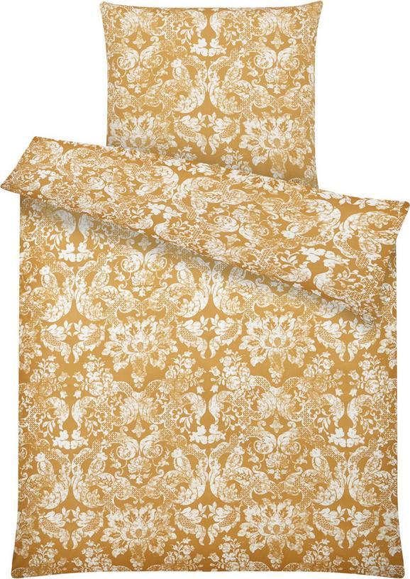 Bettwäsche Santine ca. 135x200cm - Goldfarben, LIFESTYLE, Textil (135/200cm) - Mömax modern living
