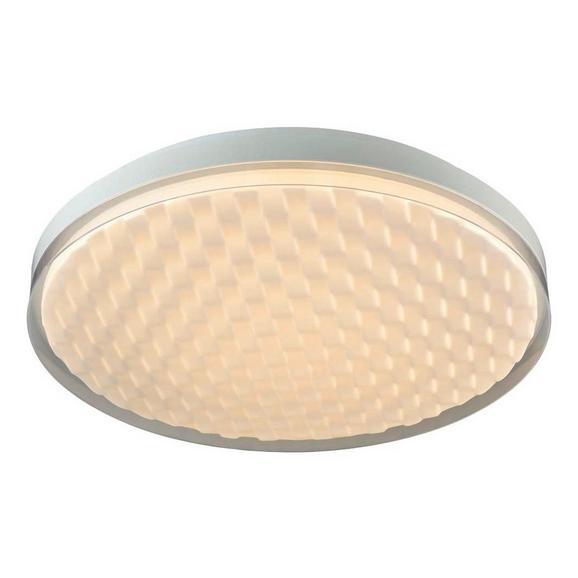 LED-Deckenleuchte Oliver, max. 36 Watt - Weiß, ROMANTIK / LANDHAUS, Kunststoff/Metall (50/7,5cm) - Premium Living