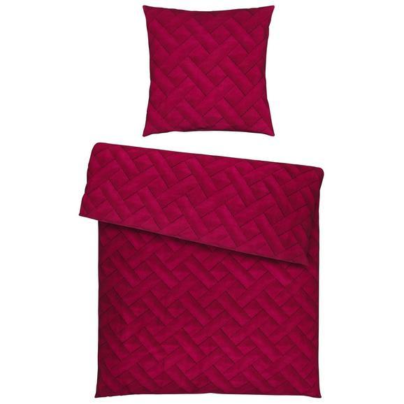 Bettwäsche Cloe in Beere ca. 135x200cm - Beere, Textil (135/200/1cm) - Mömax modern living