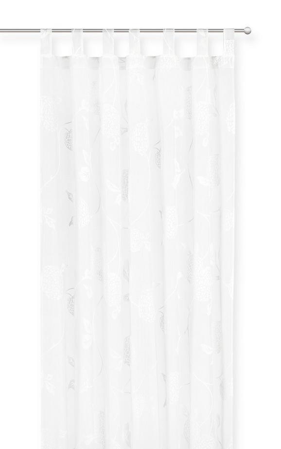 Duschvorhang City in Weiß, ca. 180x200cm - Weiß, MODERN, Textil (180/200cm) - Mömax modern living