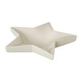 Dekoschale Star aus Keramik - Weiß, Basics, Keramik (28/28/6cm)