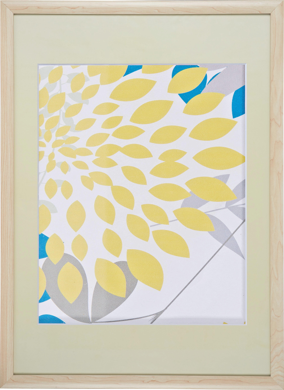 Bilderrahmen Anna, ca. 50x70cm aus Holz - Naturfarben, ROMANTIK / LANDHAUS, Glas/Holz (50/70cm) - MÖMAX modern living