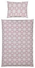 Bettwäsche Aisha, ca. 135x200cm - Beere/Grau, LIFESTYLE, Textil - Mömax modern living