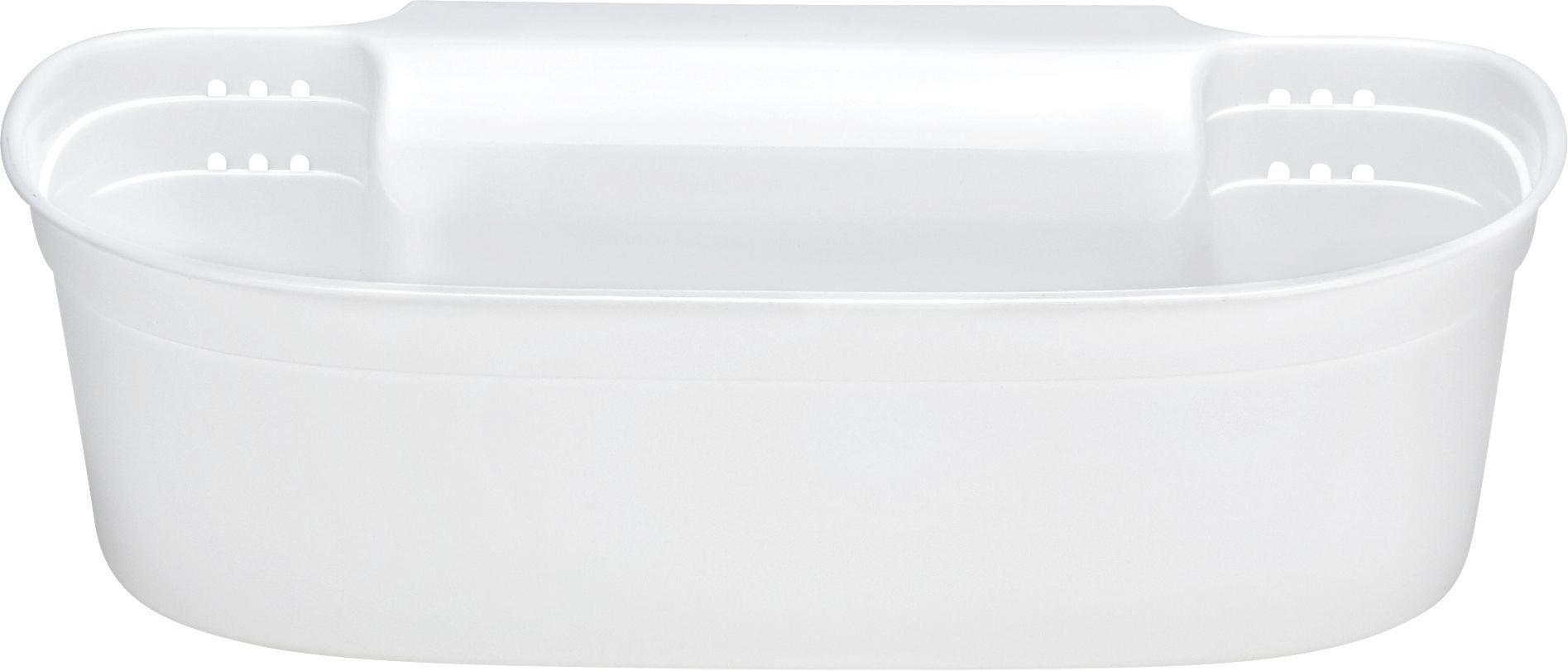 Hängeaufbewahrung Aydin-allzweckbox F.küche - Weiß, Kunststoff (30,5/17,5/9cm) - MÖMAX modern living
