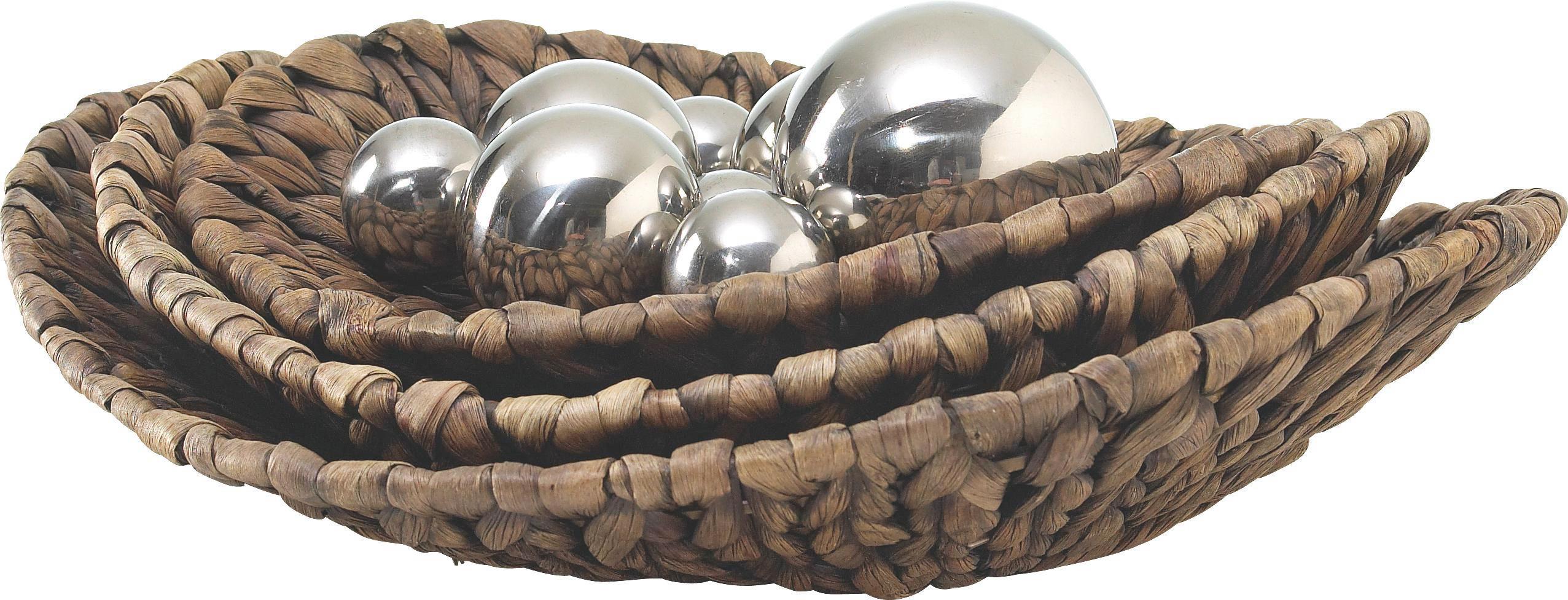 """Dekor Tál """"krisi"""" - barna, Lifestyle, további természetes anyagok/fém (37/9cm) - MÖMAX modern living"""