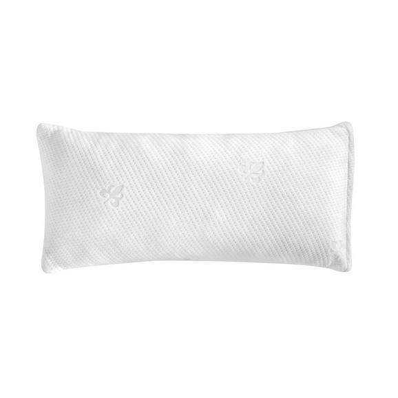 Nackenstützkissen Viscopur Weiß ca. 40x80cm - Weiß, Textil (40/80cm) - Nadana