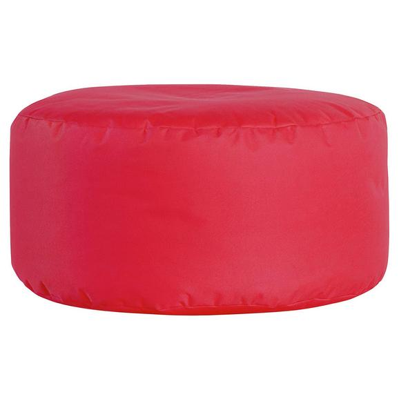 Tabure Roller -sb- - rdeča, Moderno, tekstil (35cm) - Mömax modern living