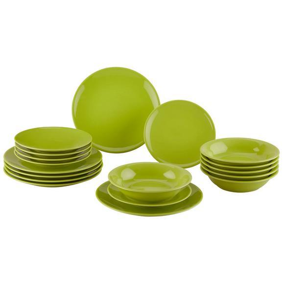Kombinirani Servis Inka - zelena, keramika - Mömax modern living