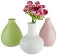 Vase Amelie In Versch. Modellen - Rosa/Weiß, Keramik (10/16cm) - MÖMAX modern living