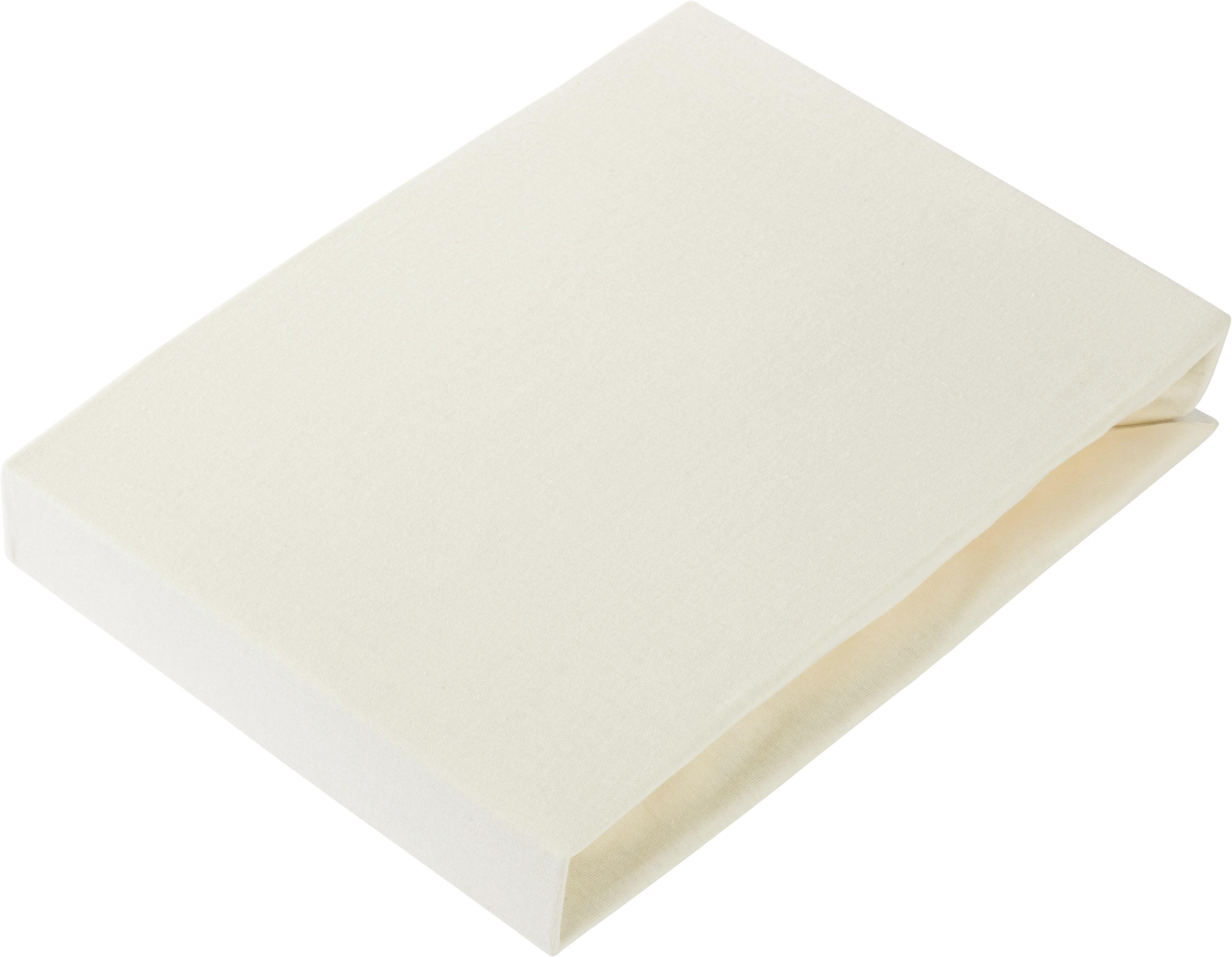 Spannbetttuch Basic In Ecru, ca. 180x200cm - Naturfarben, Textil (180/200cm) - MÖMAX modern living