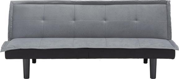 Sofa in Grau - Grau, MODERN, Holz/Kunststoff (174/71/81,5cm) - MODERN LIVING