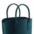 Einkaufstasche Luca ca.40x45cm - Grün, MODERN, Textil (40/25/45cm) - Mömax modern living
