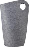 Wäschekorb Amira H ca. 68 cm - Hellgrau, MODERN, Textil (45/31/68cm) - Mömax modern living