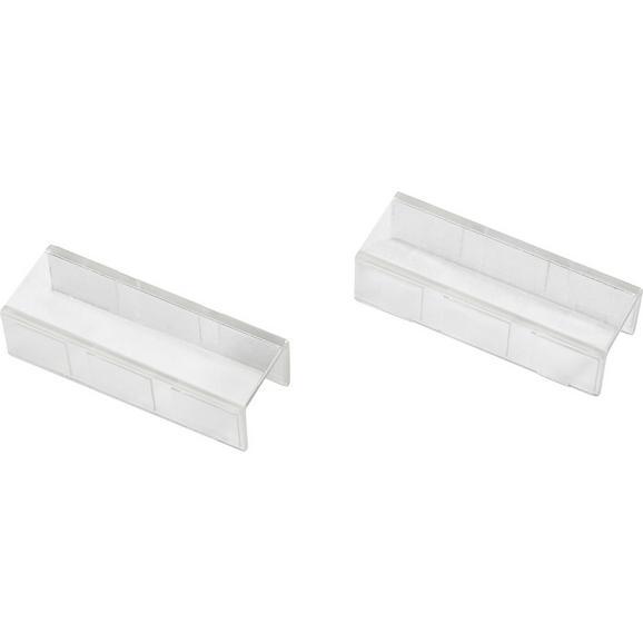 Verbinder AMELIE - Klar, Kunststoff (4/1.5/1cm) - Mömax modern living