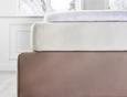 Napenjalna Rjuha Elasthan Hoch -ext- - bela, tekstil (100/200cm) - Premium Living