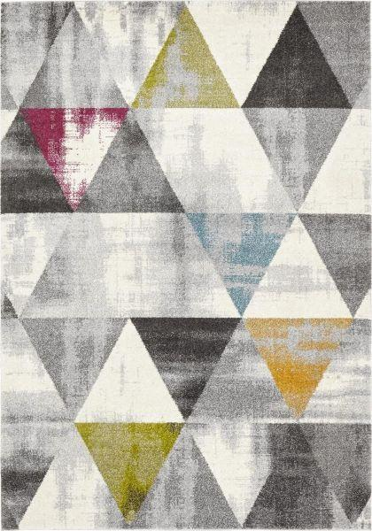Webteppich Geo, ca. 120x170cm - Multicolor, LIFESTYLE, Textil (120/170cm) - MÖMAX modern living