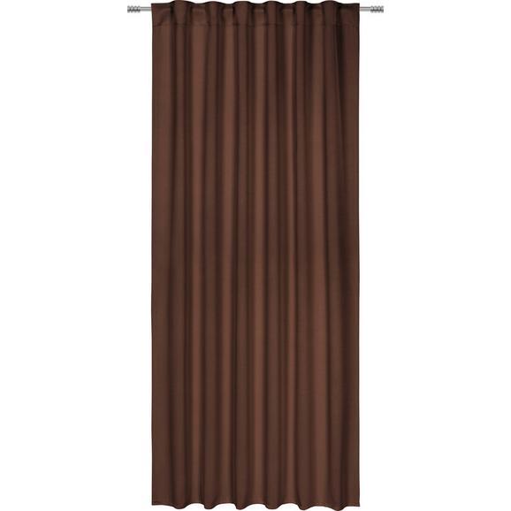 Draperie Opacă Riccardo - maro, Modern, textil (140/245cm) - Premium Living