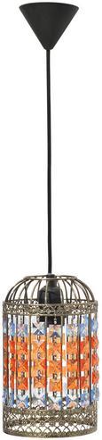 Hängeleuchte Simba max. 1x60 Watt - LIFESTYLE, Glas/Metall (14/120cm) - Mömax modern living