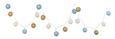 Lichterkette Schnurli in Bunt - Multicolor, ROMANTIK / LANDHAUS, Kunststoff (6/320cm) - Mömax modern living