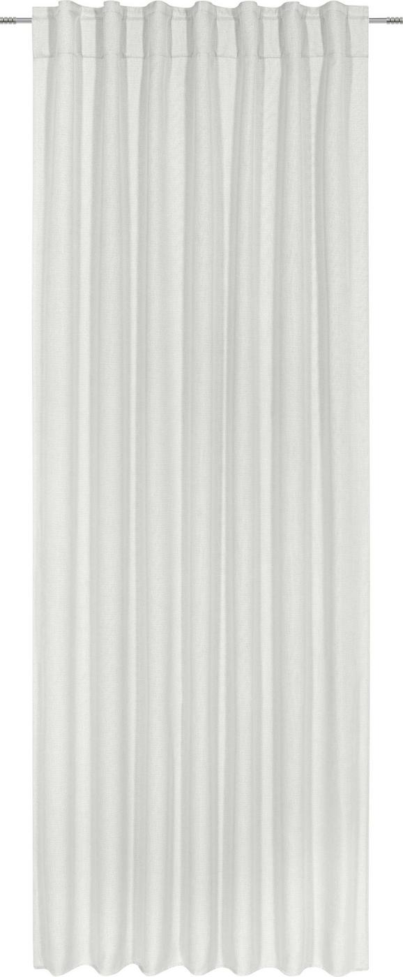 Fertigvorhang Jakob in Weiß, ca. 140x245cm - Creme, Textil (140/245cm) - Mömax modern living