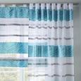 Bändchenrollo Anita, ca. 60x140cm - Blau, KONVENTIONELL, Textil (60/140cm) - Mömax modern living
