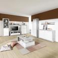 Tv-element Malta - aluminij/siva, Moderno, umetna masa/leseni material (185/50/42cm) - Mömax modern living